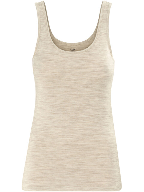 Icebreaker Siren Tank Women fawn heather